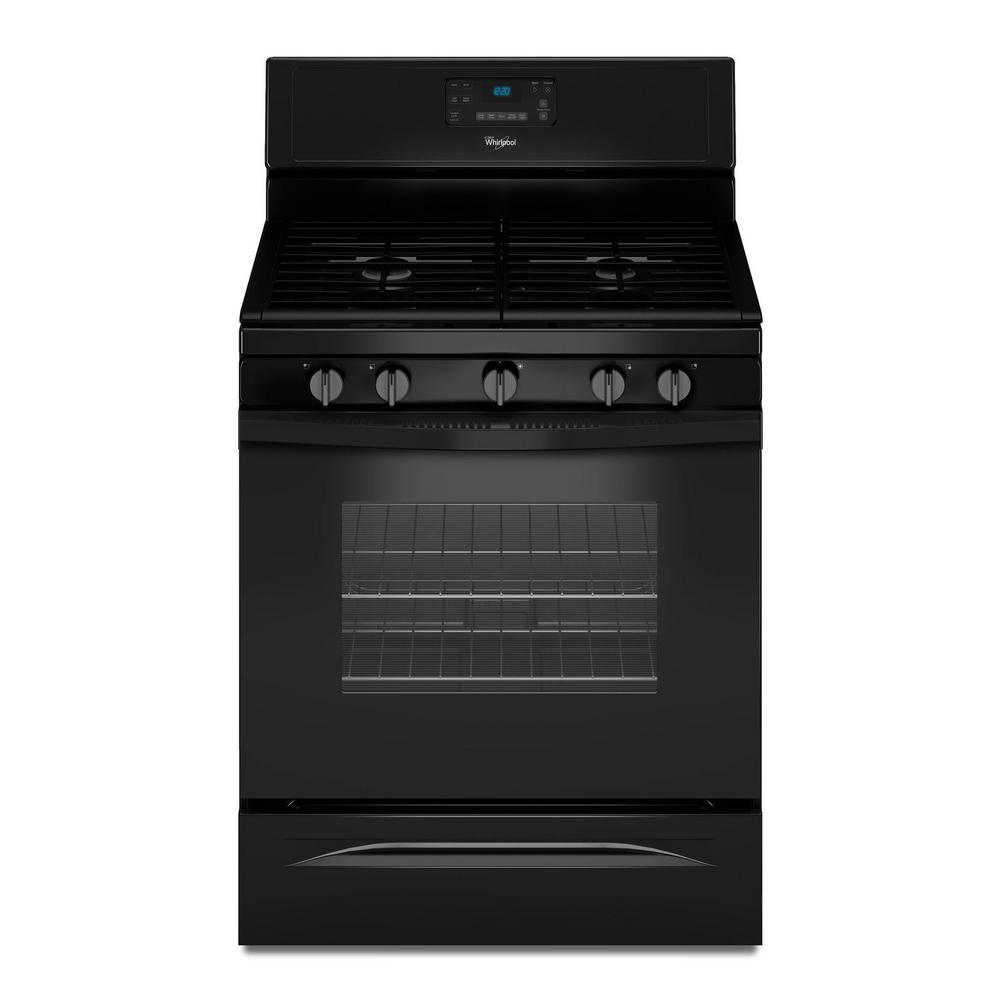 30 in. 5.0 cu. ft. Gas Range with Self-Cleaning Convection Oven