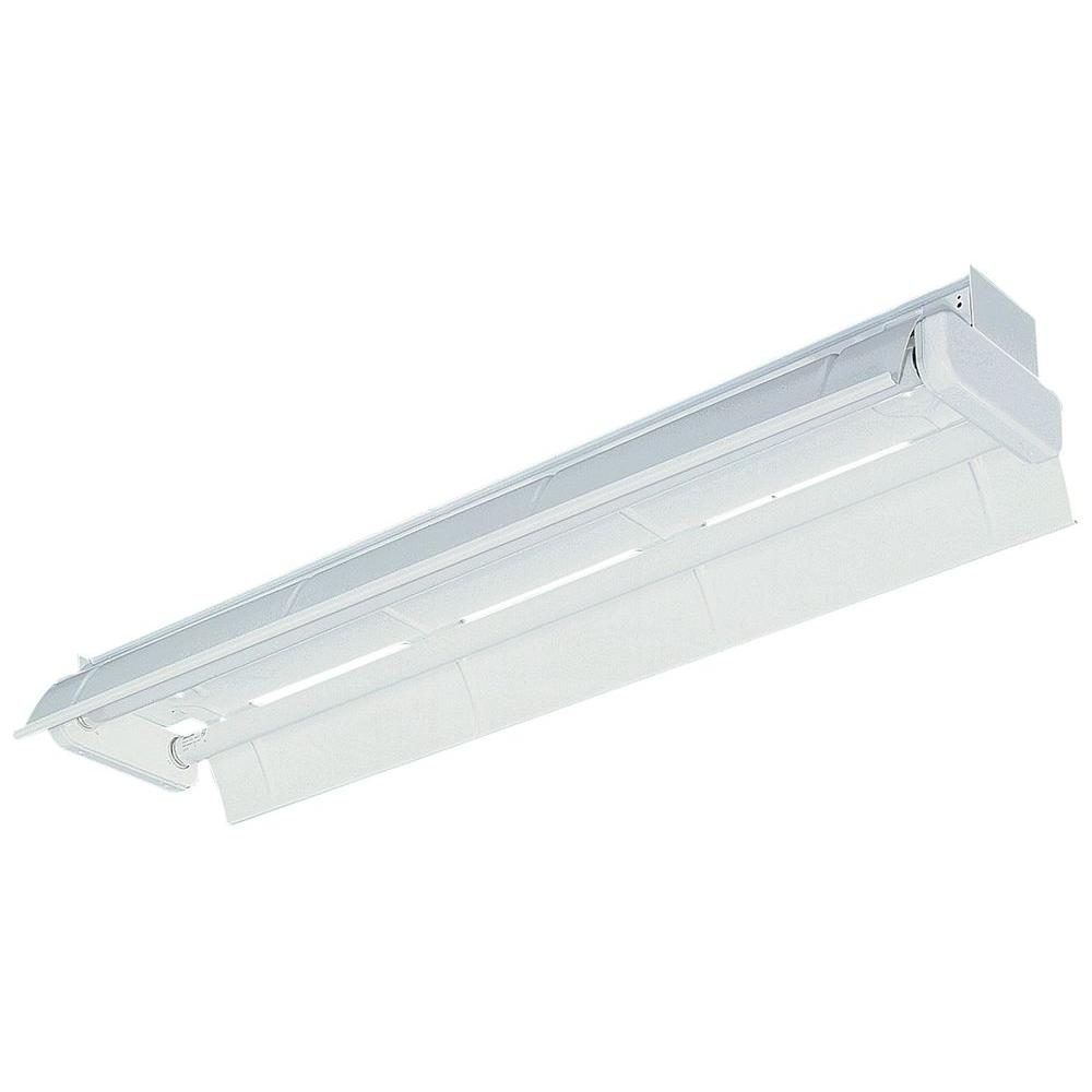 Lithonia Lighting 4 ft. Gloss White Fluorescent Industrial Strip-AF 2 32