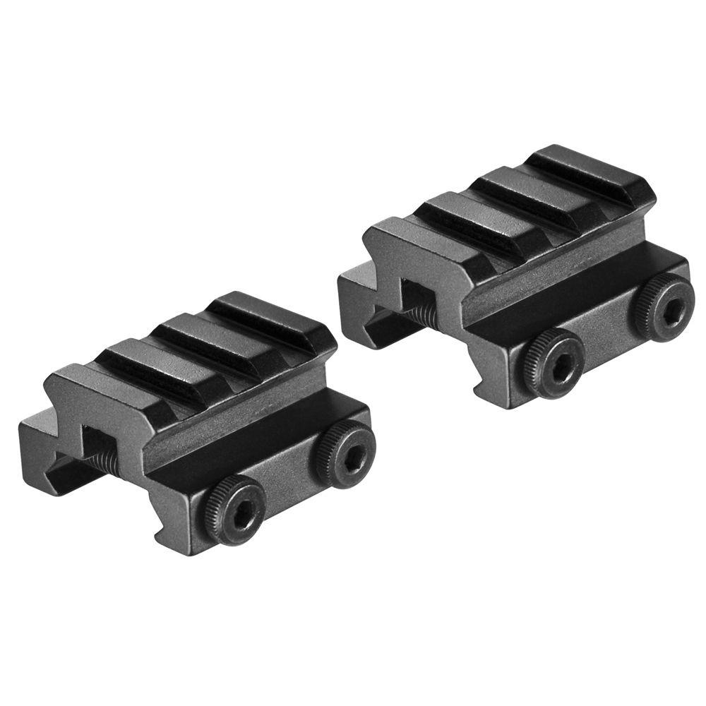 Set of Picatinny Mounts with Rail