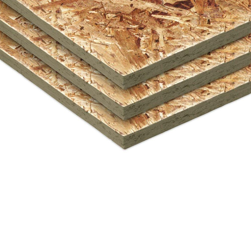 Oriented Strand Board (Common: 15/32 in. x 4 ft. x 8