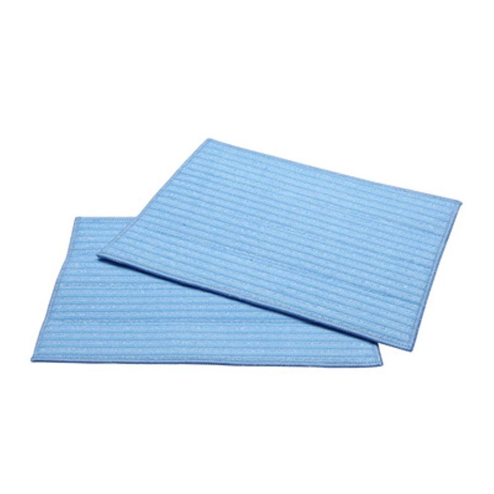 HAAN Ultra-Microfiber Cleaning Pads in Blue (2-Pack)-DISCONTINUED