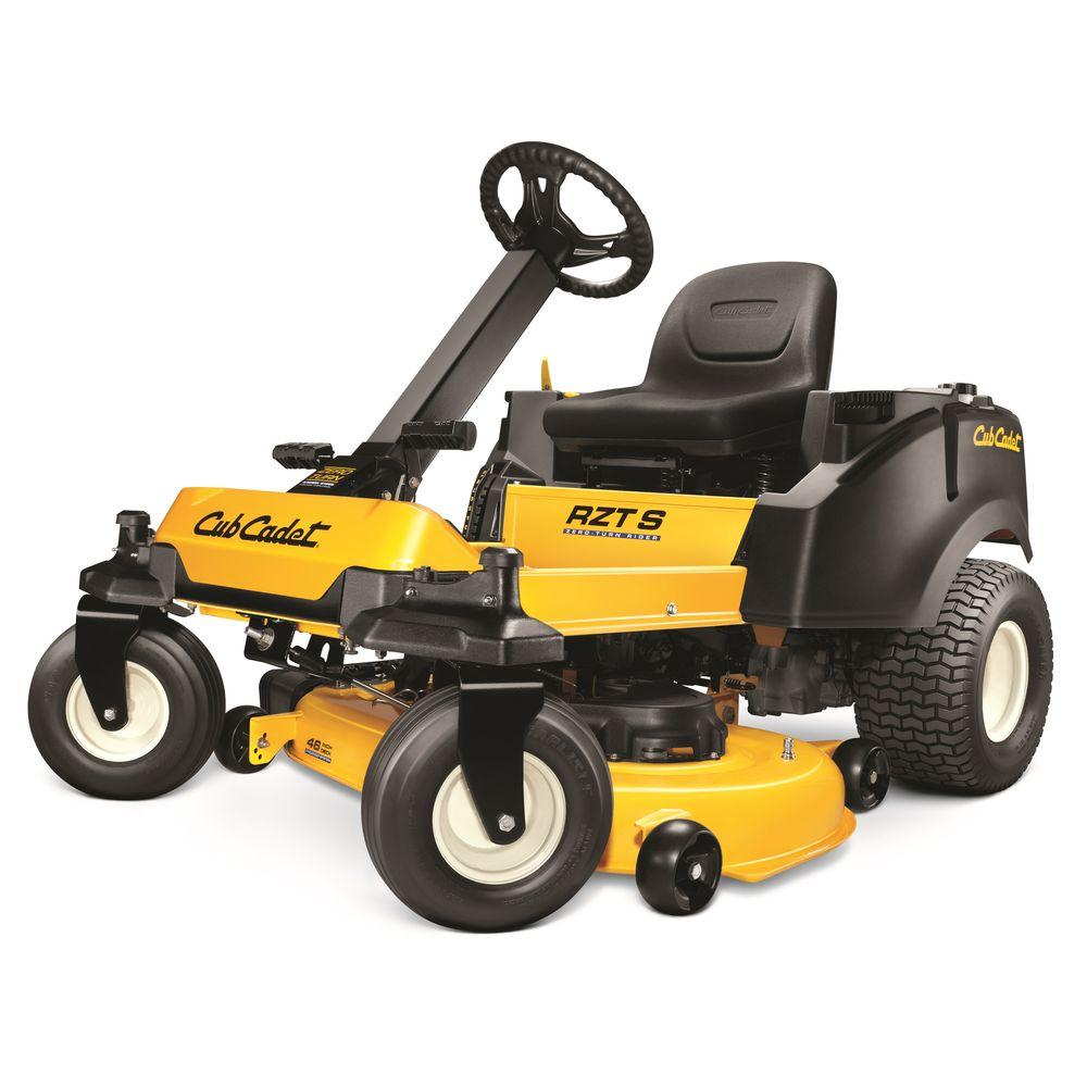 Cub Cadet 46 in. 23 HP Kohler V-Twin Automatic Gas Zero-Turn Riding Mower with Steering Wheel Control-DISCONTINUED