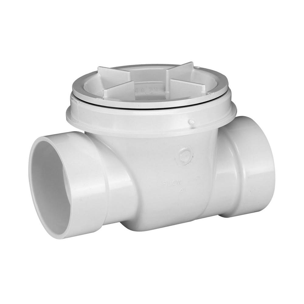 null 4 in. PVC Backwater Valve