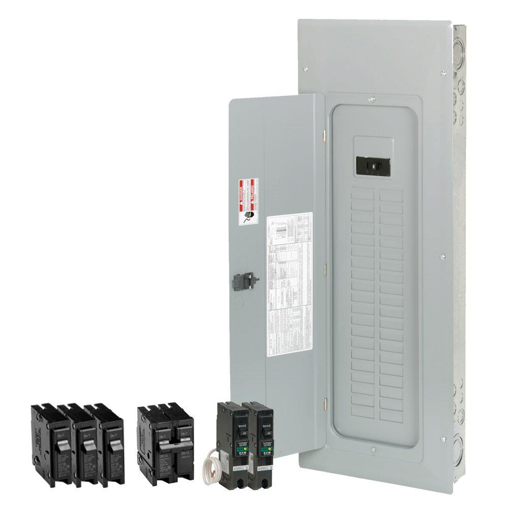 Eaton 200 Amp 40-Space 50-Circuit BR Type Main Breaker Load Center Value Pack