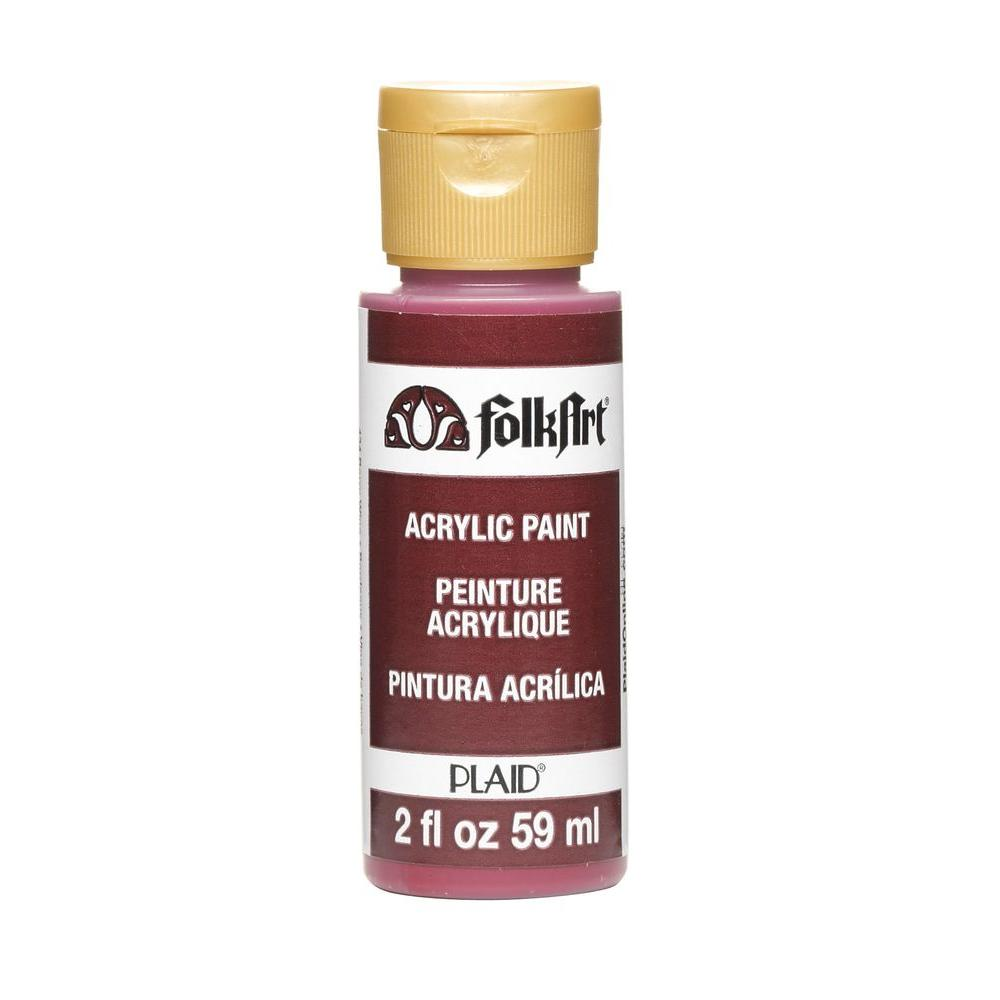 FolkArt 2-oz. Berry Wine Acrylic Craft Paint-K434 - The Home Depot