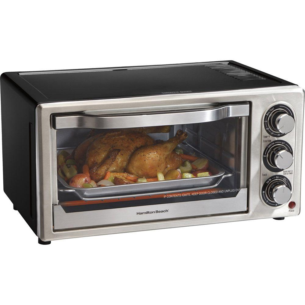Hamilton Beach 6-Slice Convection Toaster Oven and Broiler-DISCONTINUED