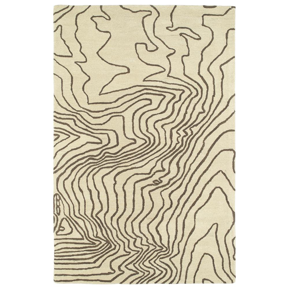 Synthesis Brown 5 ft. x 7 ft. 9 in. Area Rug