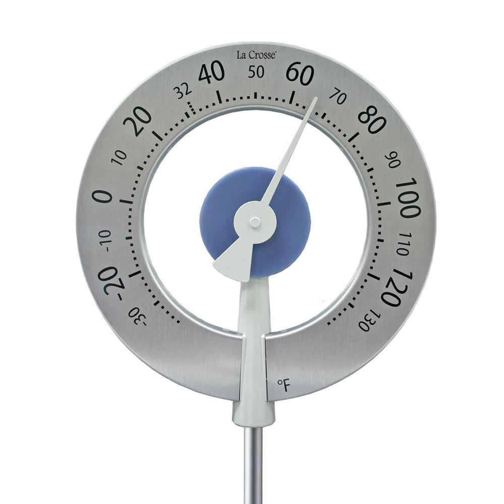 Large round Garden Analog Thermometer