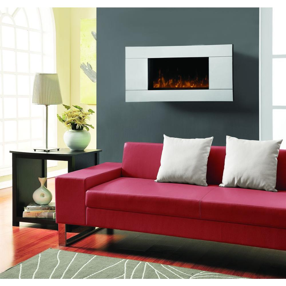 Dimplex Mirror 40 in. Wall-Mount Electric Fireplace-DISCONTINUED
