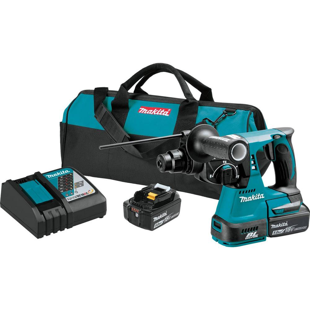 18-Voltt 5.0Ah LXT Lithium-Ion Cordless Rotary Hammer Kit