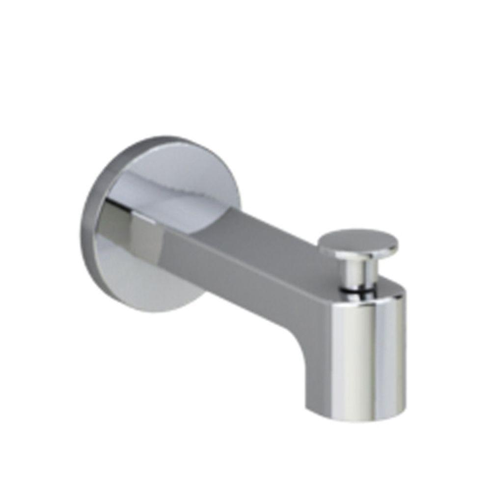 American Standard Moments Slip-On Diverter Tub Spout in Polished Chrome