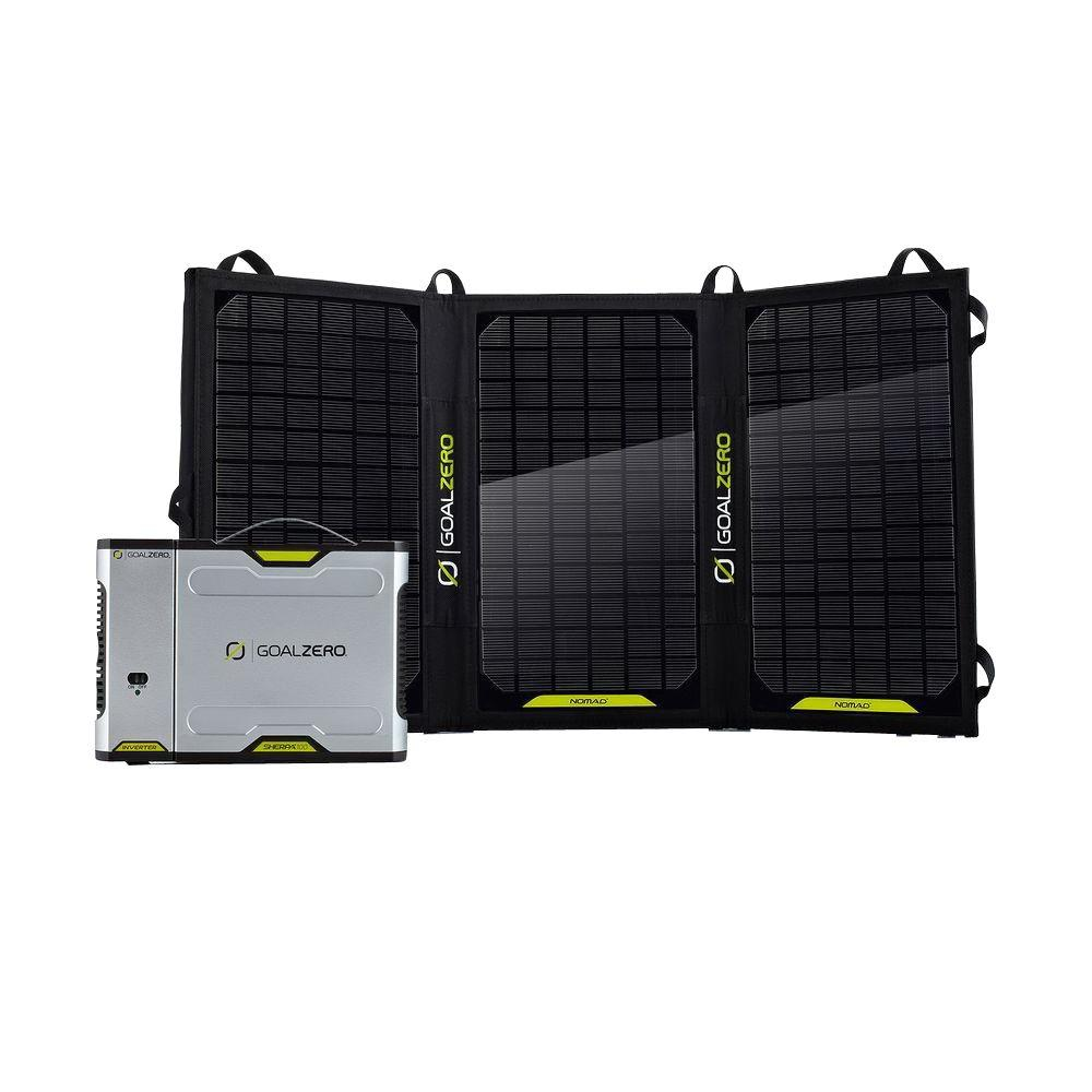 Sherpa 100 Solar Recharging Kit with Nomad 20 Solar Panel