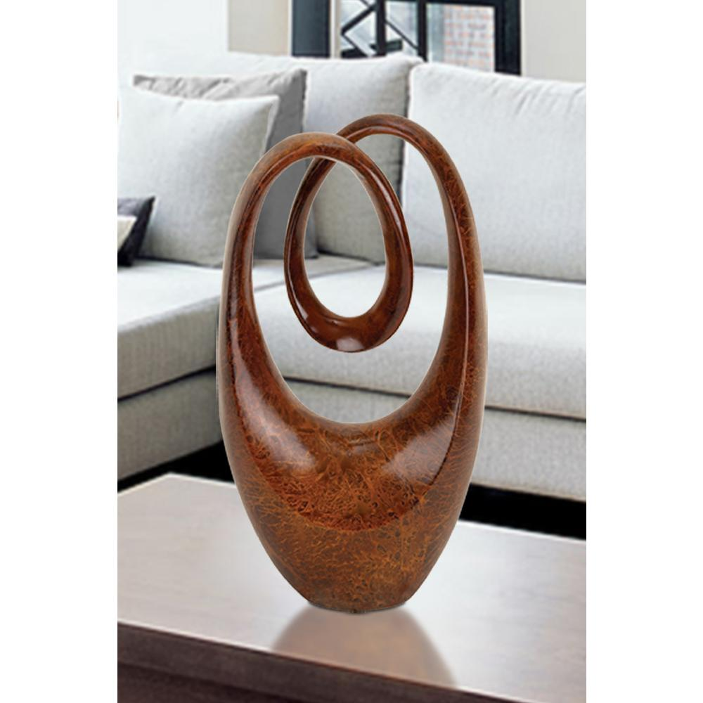 20 in. Abstract Decorative Sculpture