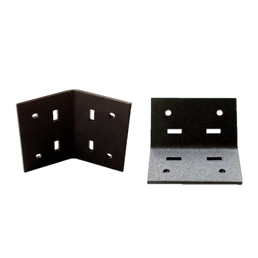 45-Degree Flush Inside Decorative Structural Wood Support (2-Pack)