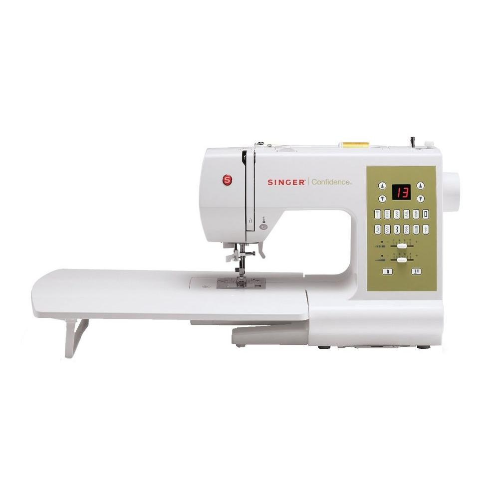 SINGER SEWING CO. Confidence 98-Stitch Sewing Machine, White