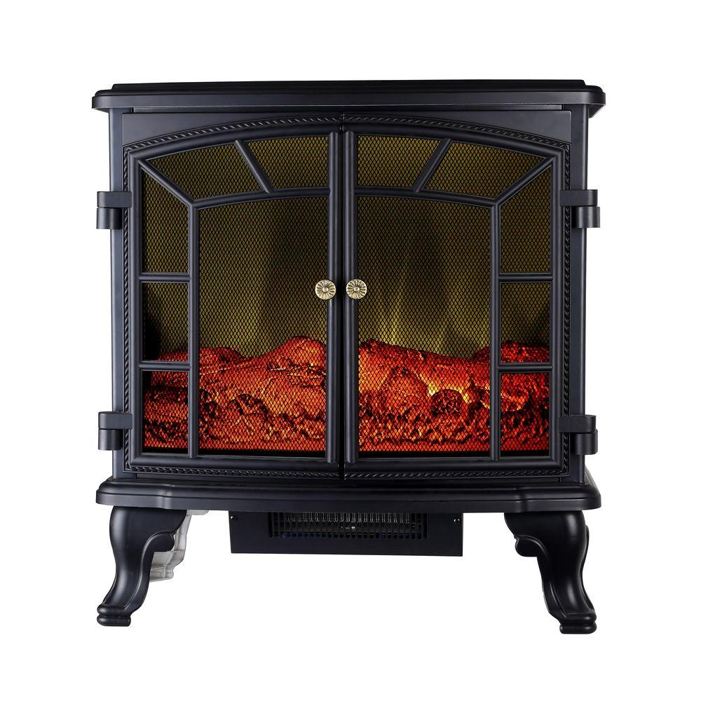 1500-Watt Infrared Electric Portable Stove Heater with Remote Control