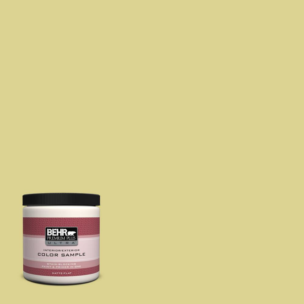 BEHR Premium Plus Ultra 8 oz. #T17-16 That's My Lime Flat