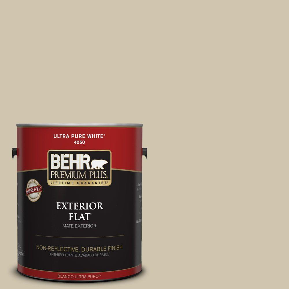 Home Decorators Collection 1-gal. #HDC-NT-18 Yuma Sand Flat Exterior Paint