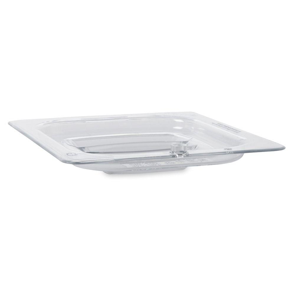 1/6 Size Cold Food Pan Cover with Peg Hole
