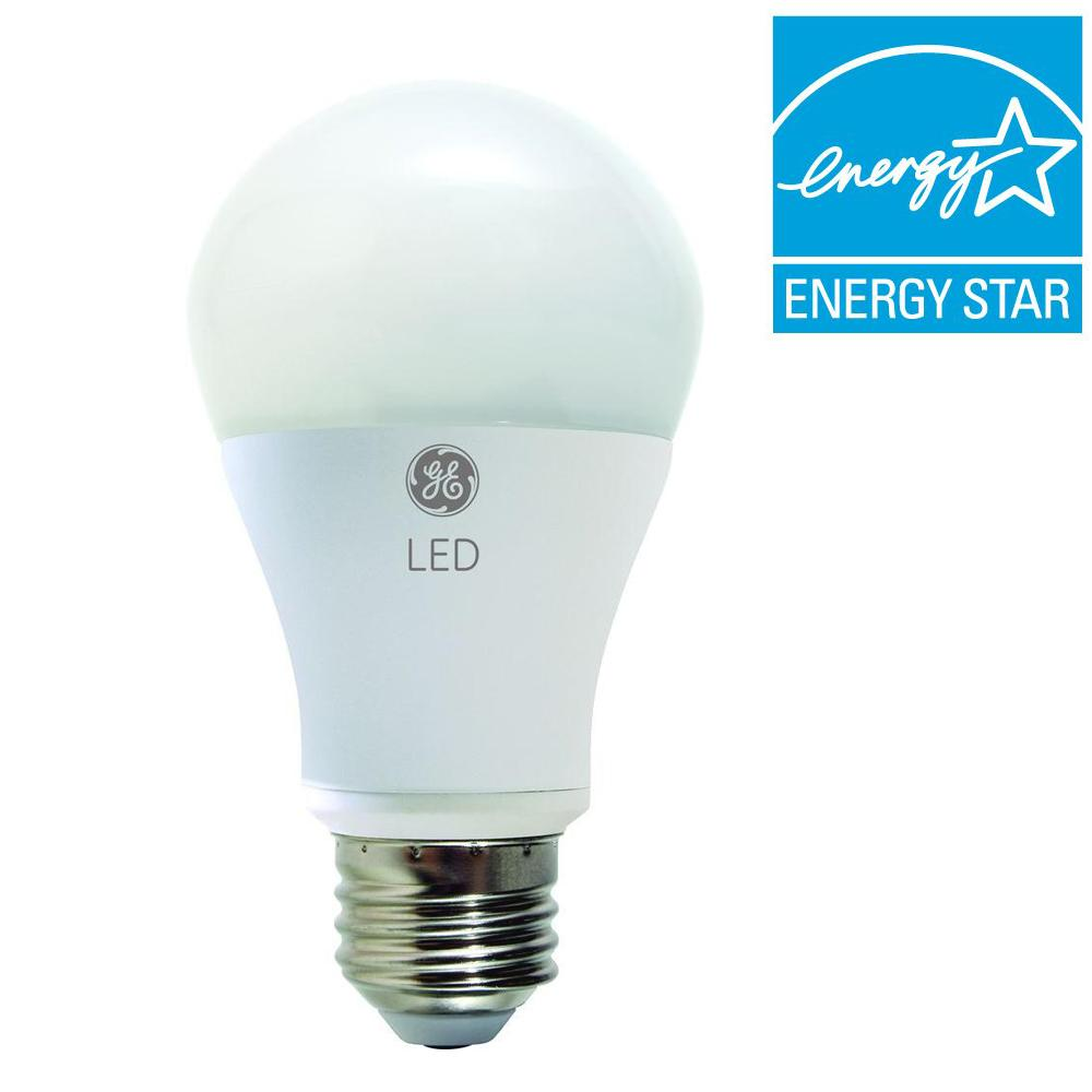 GE 60W Equivalent Soft White (2700K) A19 Omni-Directional Dimmable LED Light