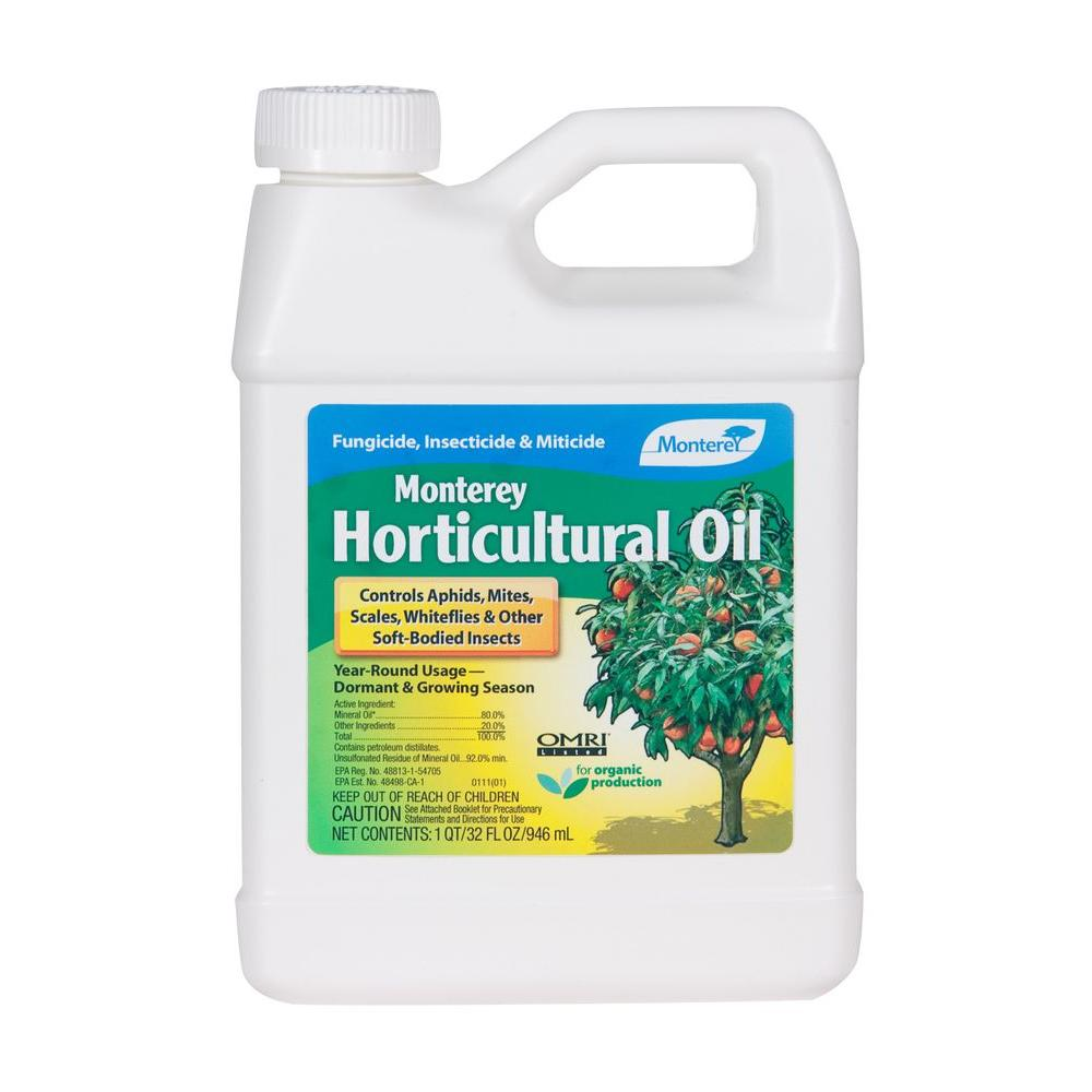 Horticultural Oil Quart Organic Concentrate for Outdoor Insect Control