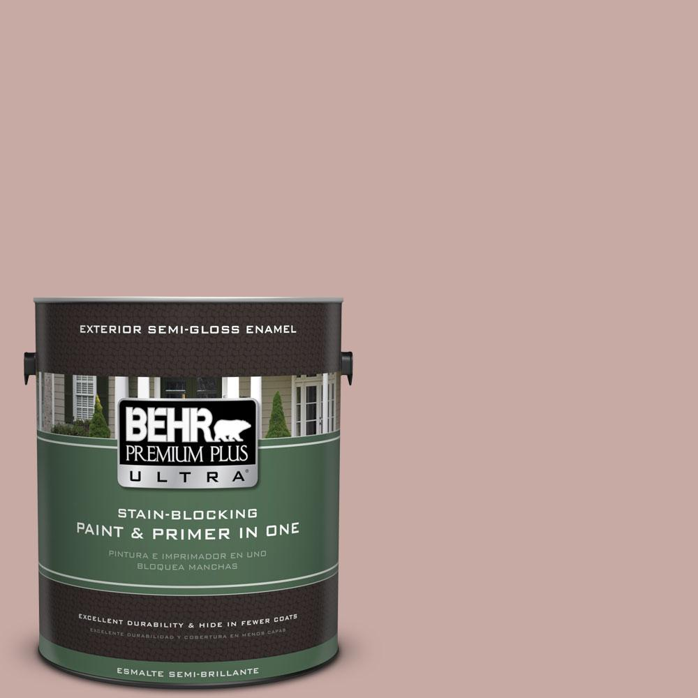 1-gal. #700A-3 Pottery Clay Semi-Gloss Enamel Exterior Paint