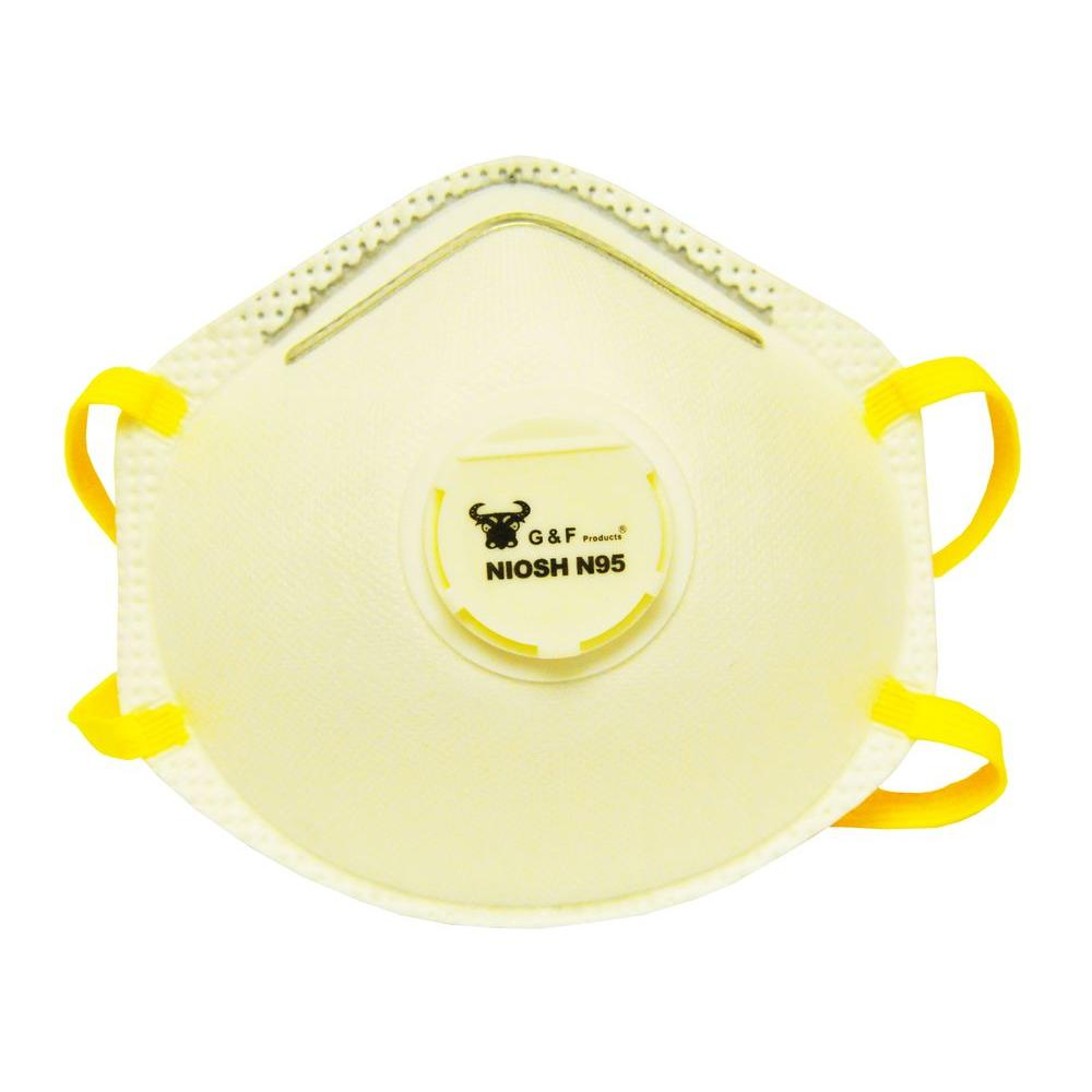 Premier Valved Disposable Particulate Respirator (10-Piece per Pack)