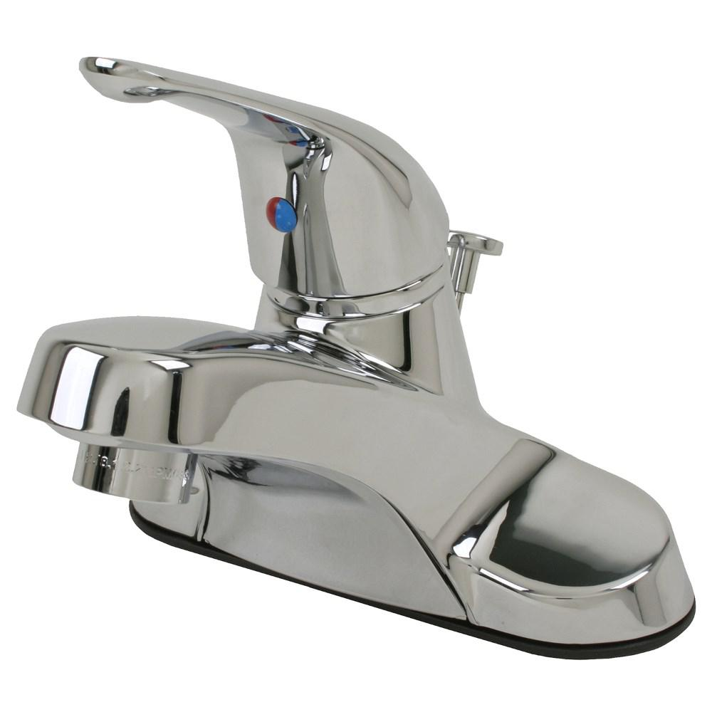 4 in. Centerset Single-Handle Bathroom Faucet in Chrome