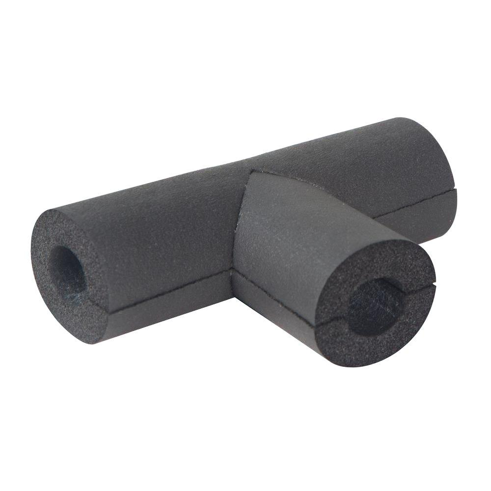 1/2 in. Rubber Pipe Insulation Tee