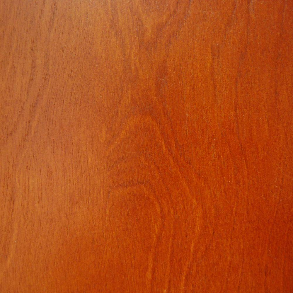 Foremost Palma 4 in. x 4 in. Wood Sample in Warm Cinnamon-DISCONTINUED