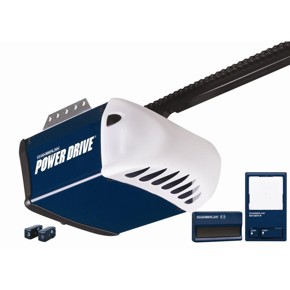 Chamberlain Power Drive 1/2 HP Chain Drive Garage Door Opener Access System