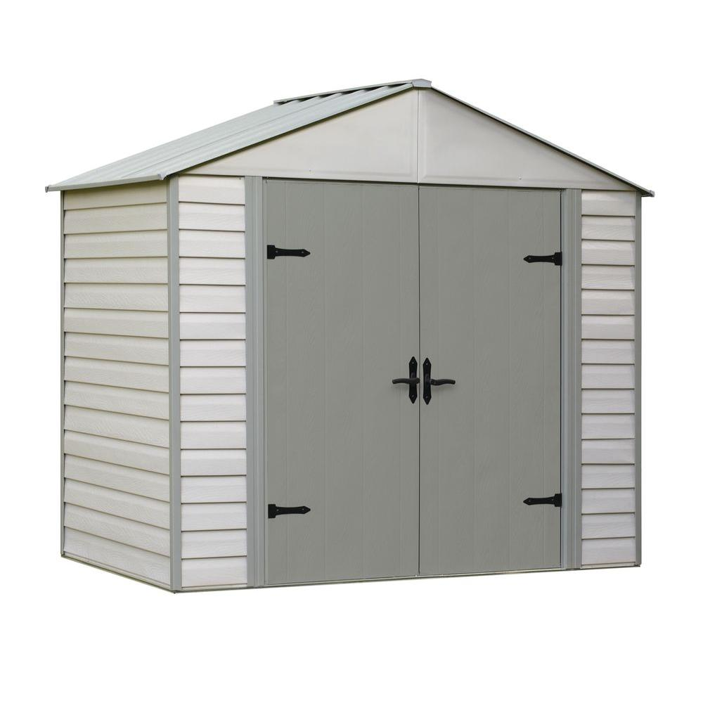 Viking Series 5 ft. x 8 ft. Vinyl Coated Steel Shed