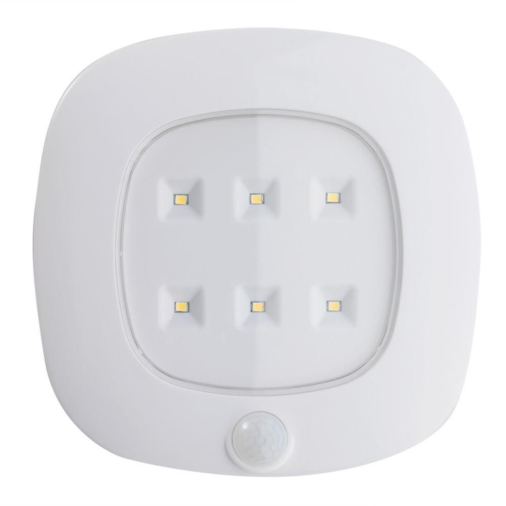 White Motion Sensor Ceiling Light
