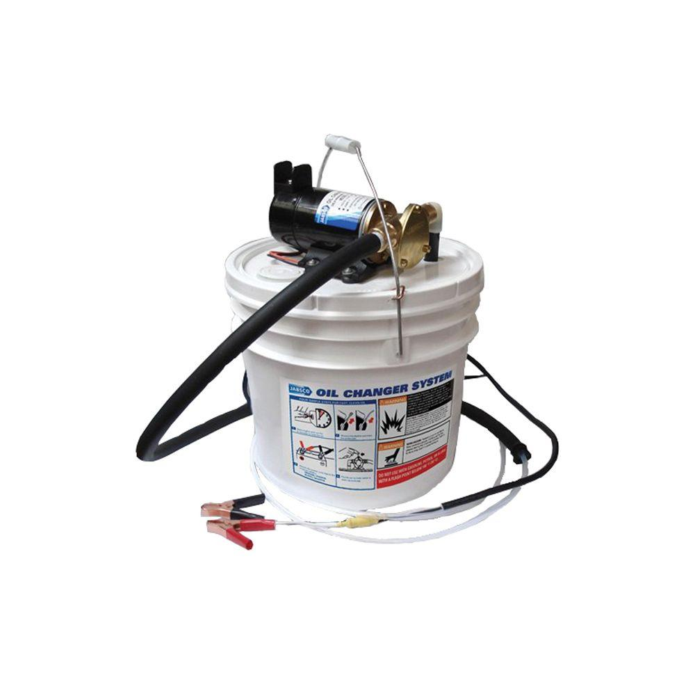 Jabsco 1/8 HP Portable Quick Oil Changer and Reversible Pump-DISCONTINUED