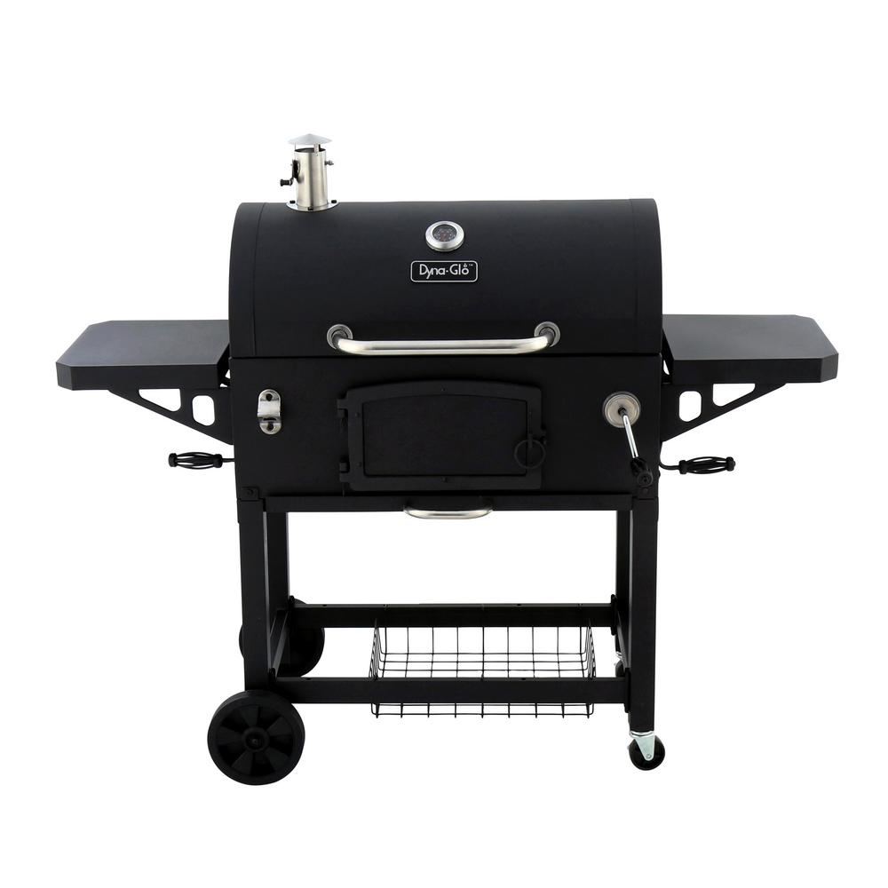 Premium Charcoal Grill in Black