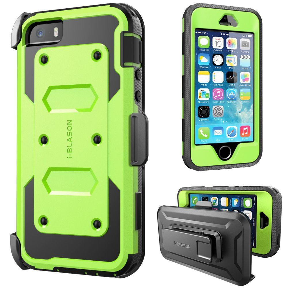 i-Blason iPhone 5S Armorbox Series Full Body Case with Screen Protector