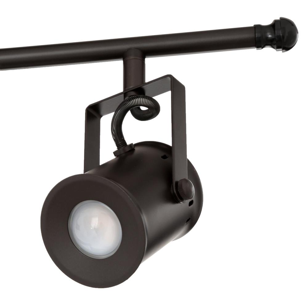 Aspects Studio 4 Light Oiled Rubbed Bronze Dimmable Fixed