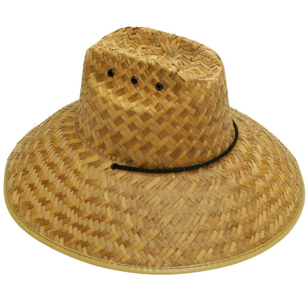 null Men's Straw Hat in Brown