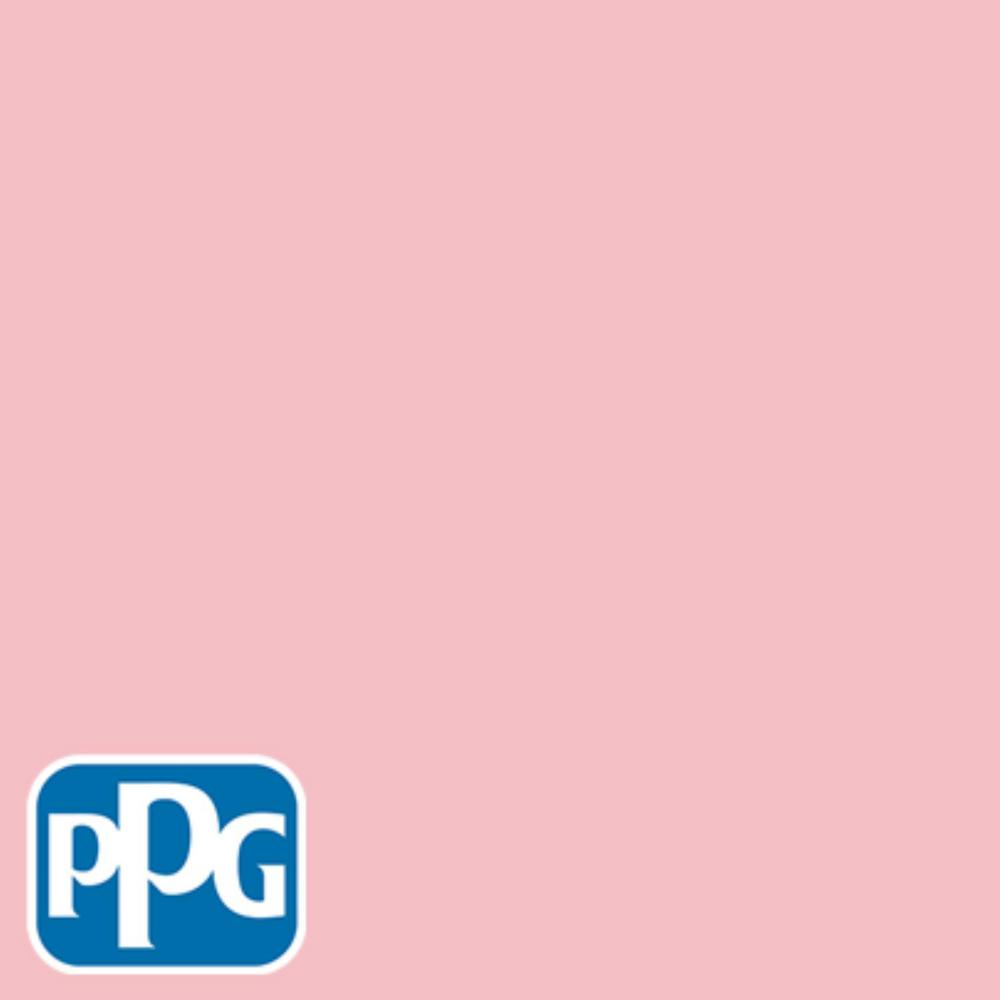 5 gal. #HDPPGR29 Cotton Candy Pink Satin Exterior One-Coat Paint with