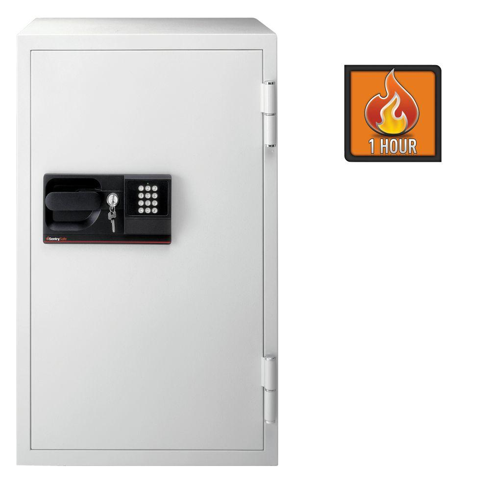 SentrySafe 5.8 cu. ft. Steel Commercial Safe with Electronic Lock and