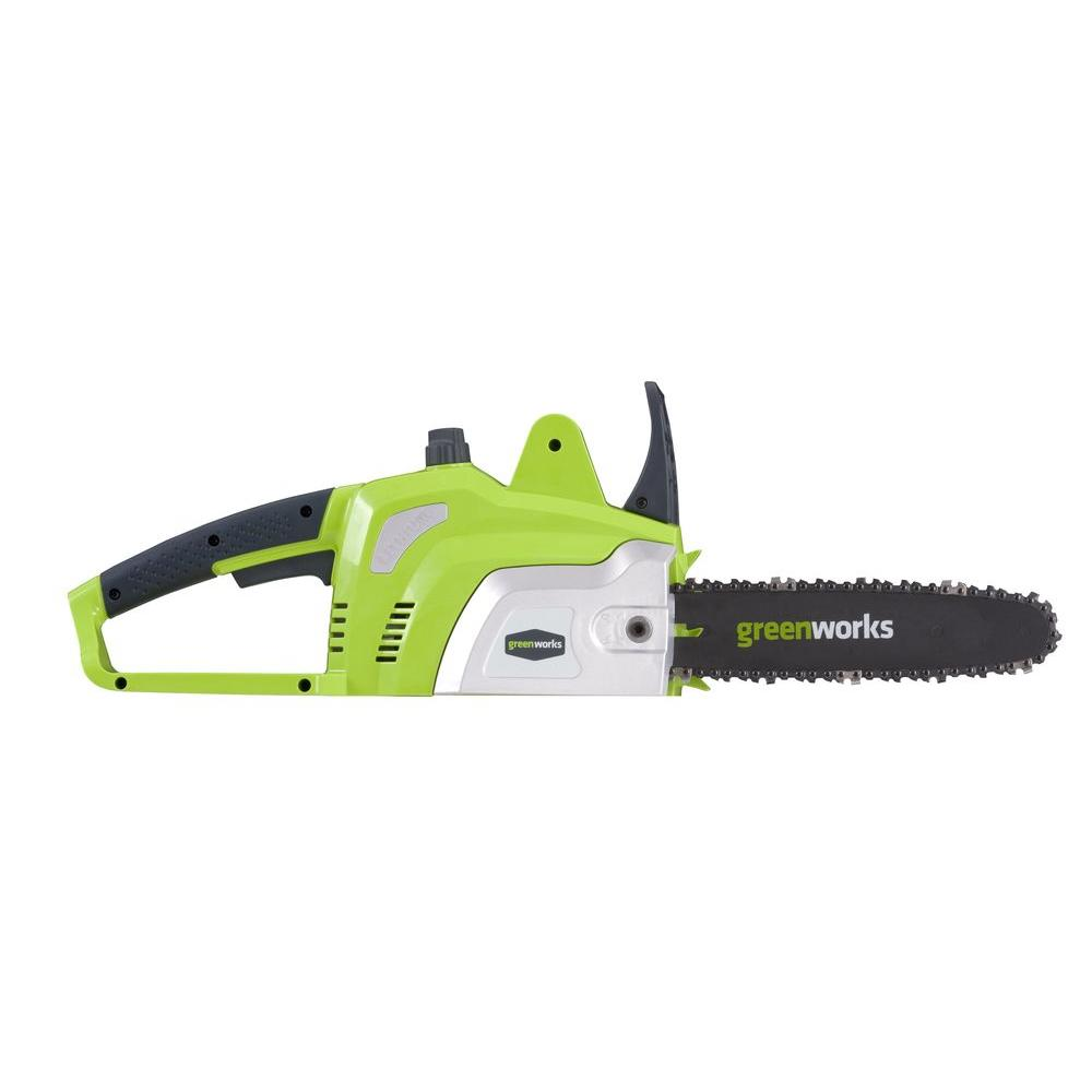 Greenworks 10 in. 20-Volt Electric Cordless Chainsaw - Battery Not Included