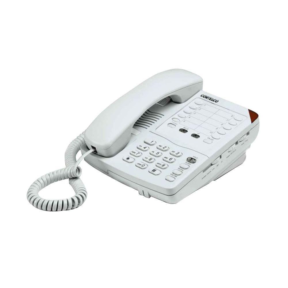 Cortelco Colleague Corded Telephone with Speakerphone - Frost-ITT-2203FROST -