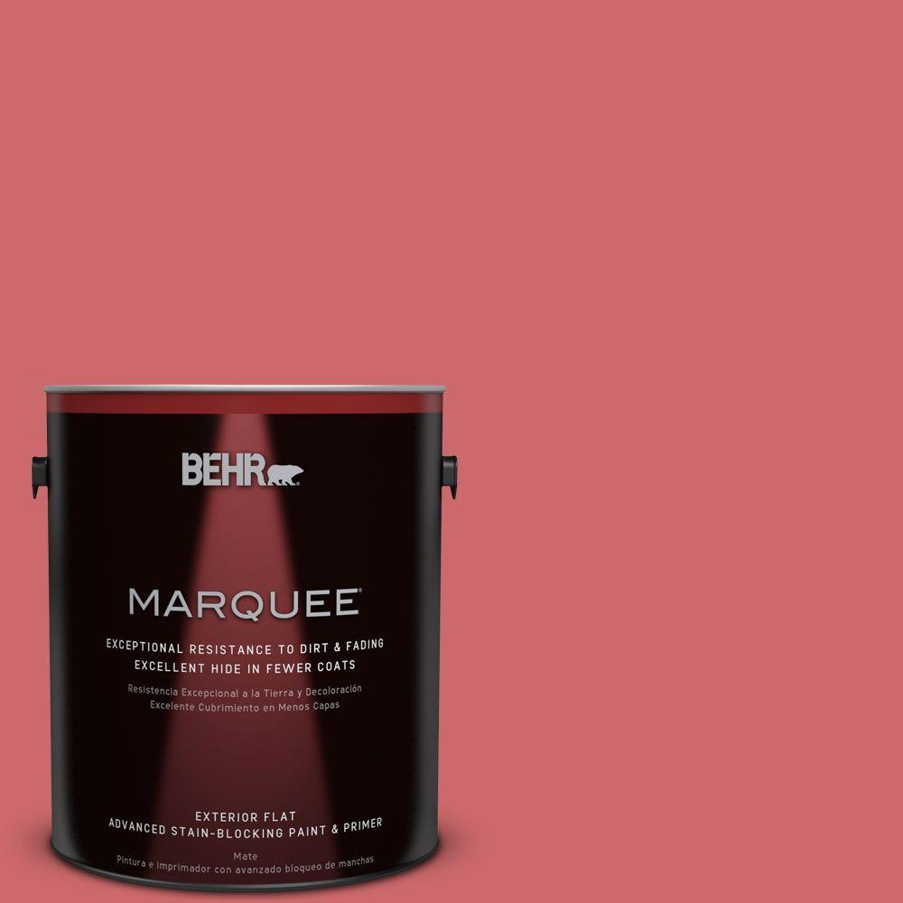 BEHR MARQUEE 1-gal. #MQ4-2 Strawberry Wine Flat Exterior Paint