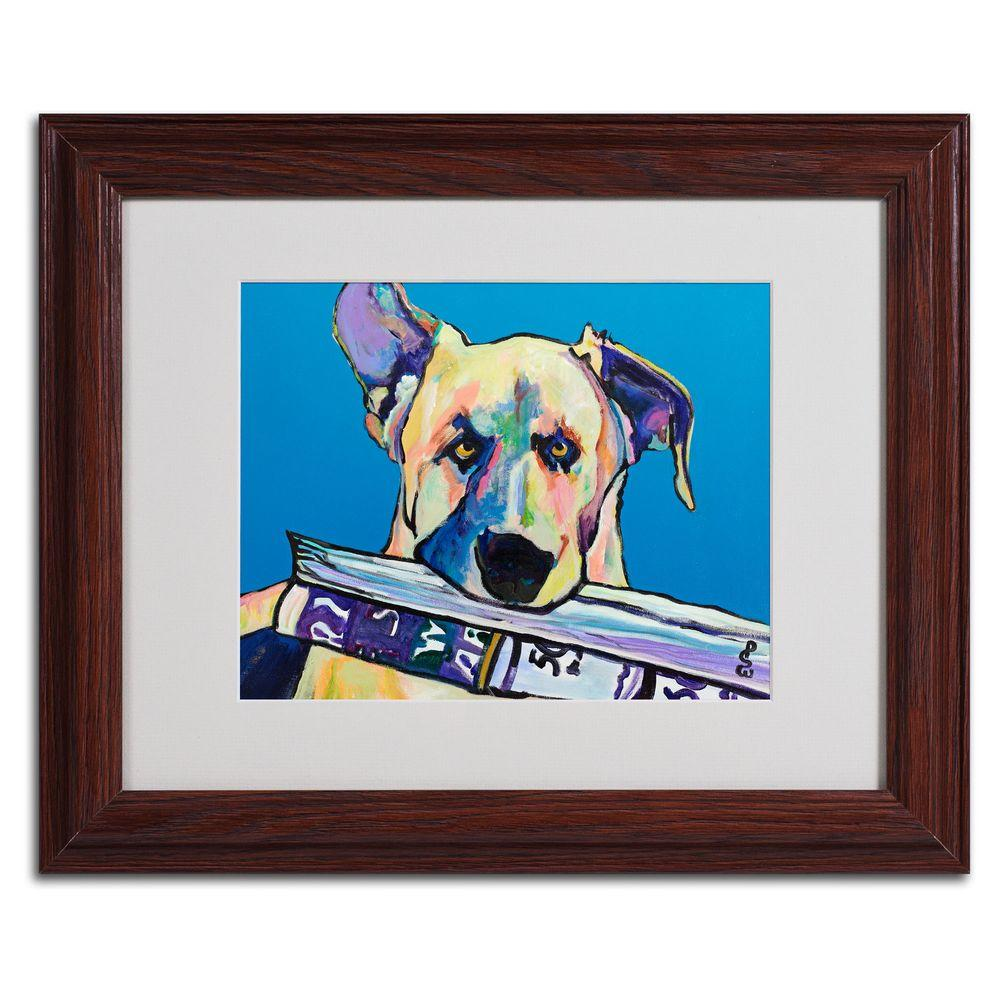 11 in. x 14 in. Daily Duty Matted Framed Art