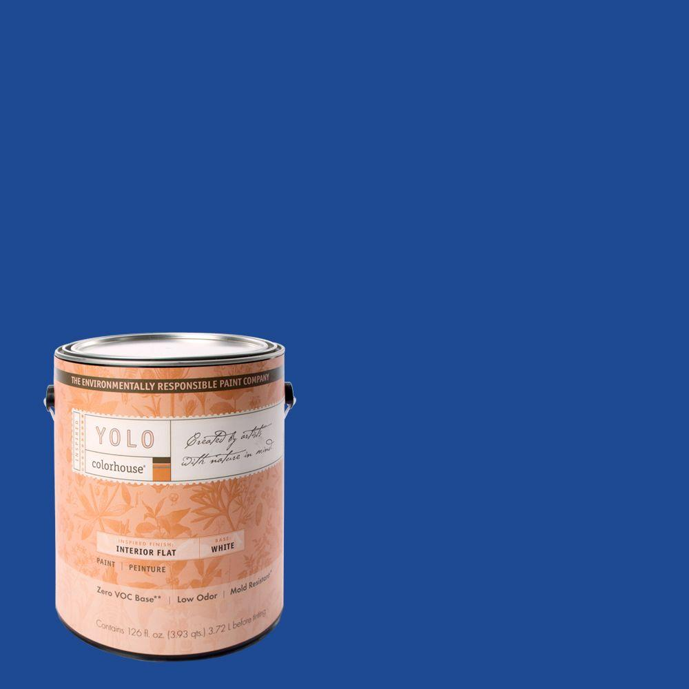 YOLO Colorhouse 1-gal. Petal .05 Flat Interior Paint-DISCONTINUED