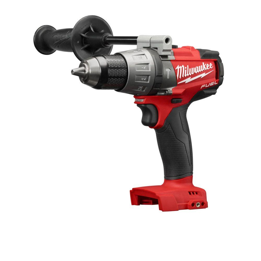 Milwaukee M18 FUEL 18-Volt Lithium-Ion Brushless 1/2 in. Hammer Drill/Driver