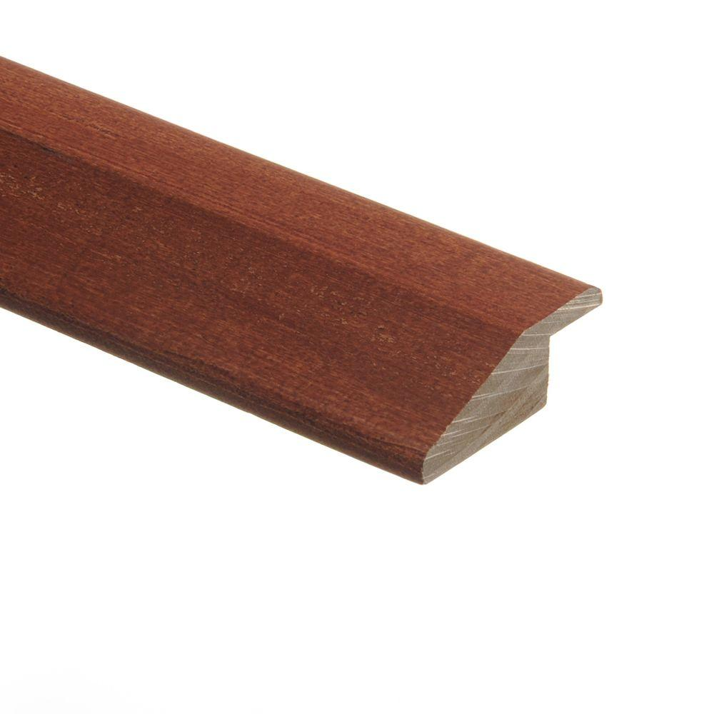 Tigerwood 3/8 in. Thick x 1-3/4 in. Wide x 94 in. Length Hardwood Multi-Purpose Reducer Molding