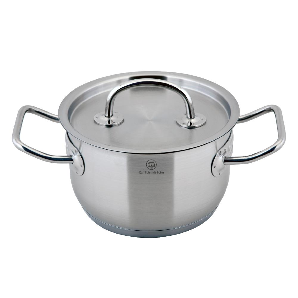 Pro-X 1.6 Qt. Stainless Steel Stock Pot with Lid