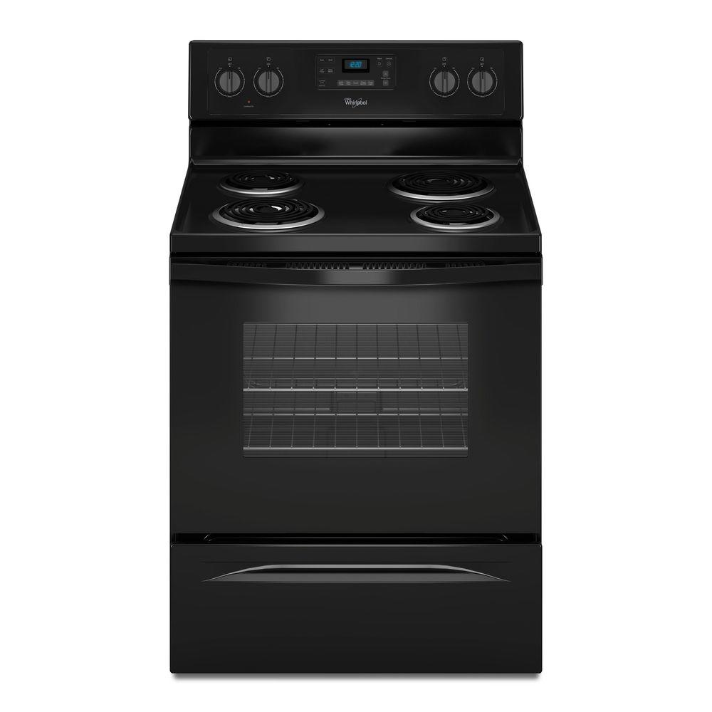 30 in. 4.8 cu. ft. Electric Range with Self-Cleaning Oven in