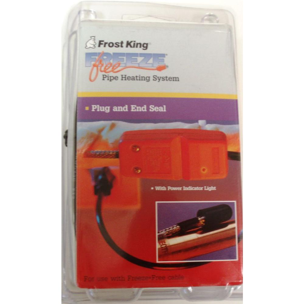 Frost King Plug End And Seal for Roof Cable Kit